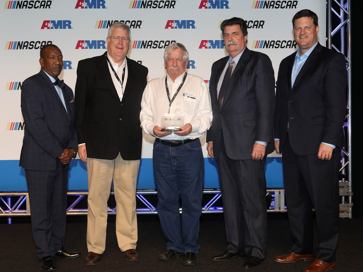 Tim Arfons Receives NASCAR Track Services Mission Award